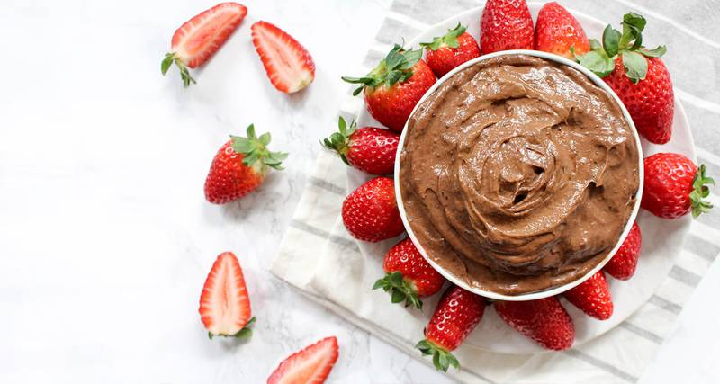 Raw Chocolate Caramel Dip