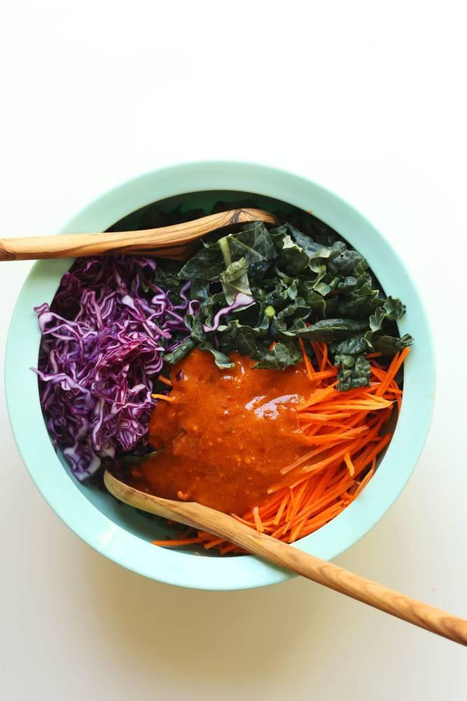 20-minute Asian Kale Salad