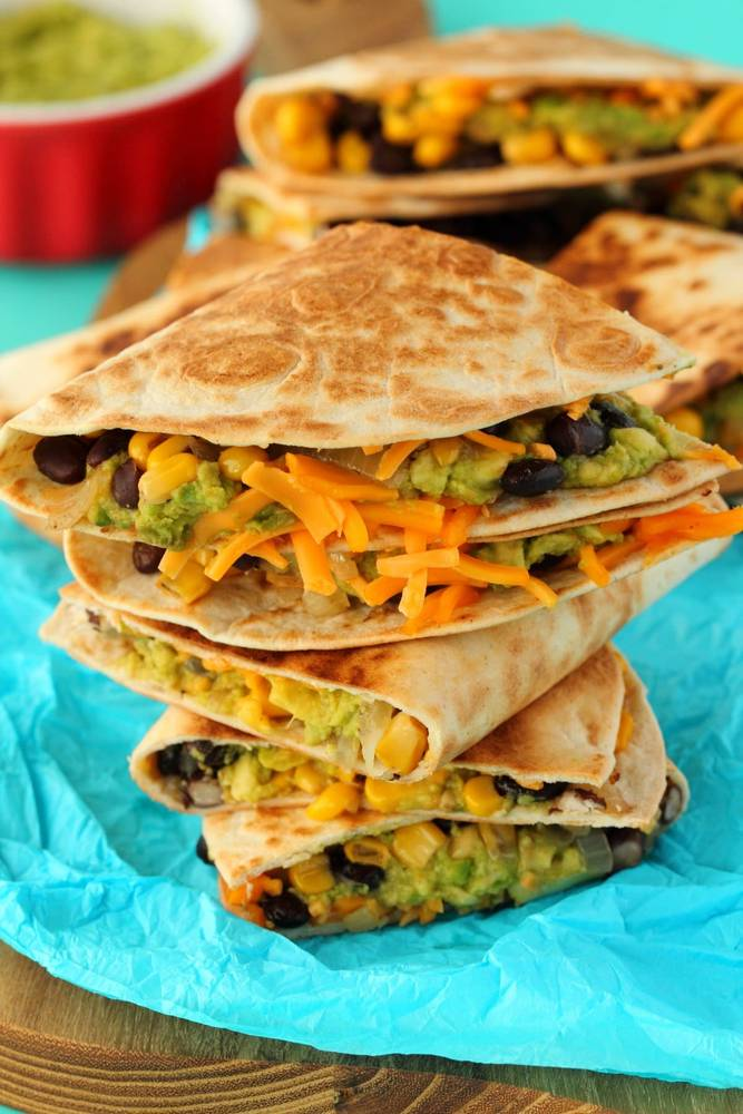Vegan Quesadillas