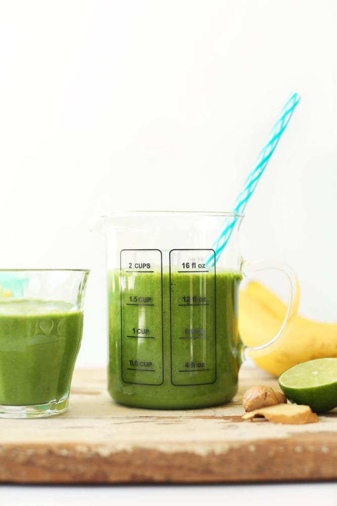 Ginger Colada Green Smoothie