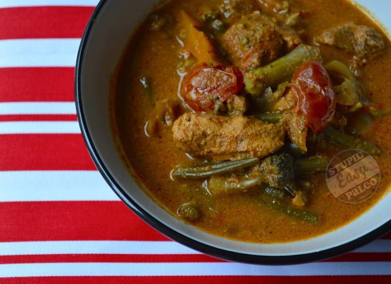 Crock Pot Chicken Yellow Curry Soup