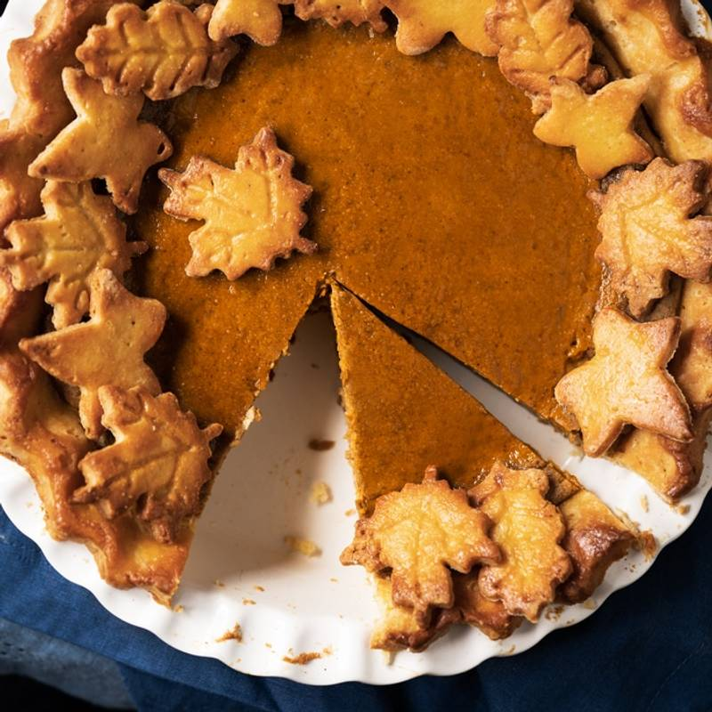 (Our Very Best!) Gluten Free & Keto Pumpkin Pie