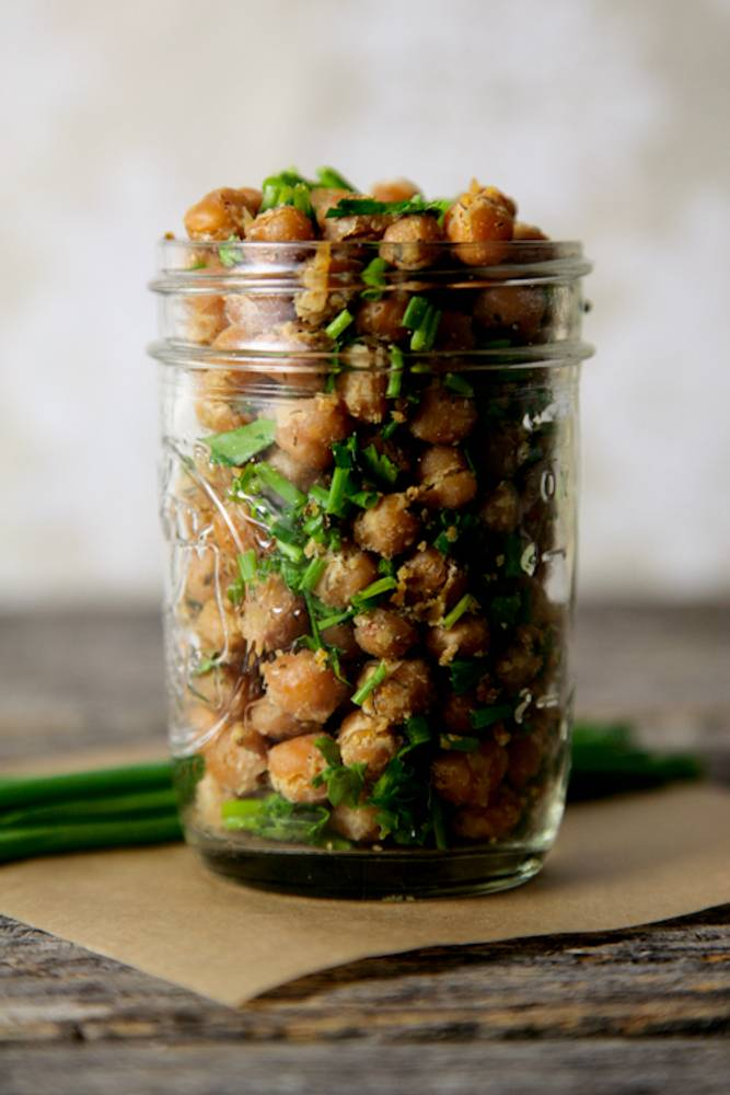Cool Ranch Roasted Chickpeas (Vegan, Gluten-Free)