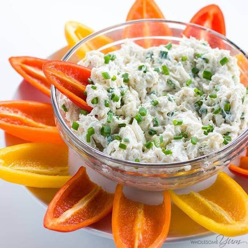 Easy Cold Crab Dip Recipe with Cream Cheese - 5 Minutes