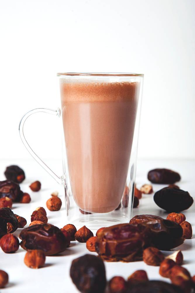 Vegan Nutella Hot Chocolate