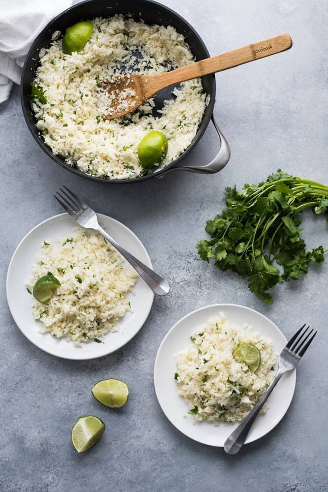 Cilantro Cauliflower Rice