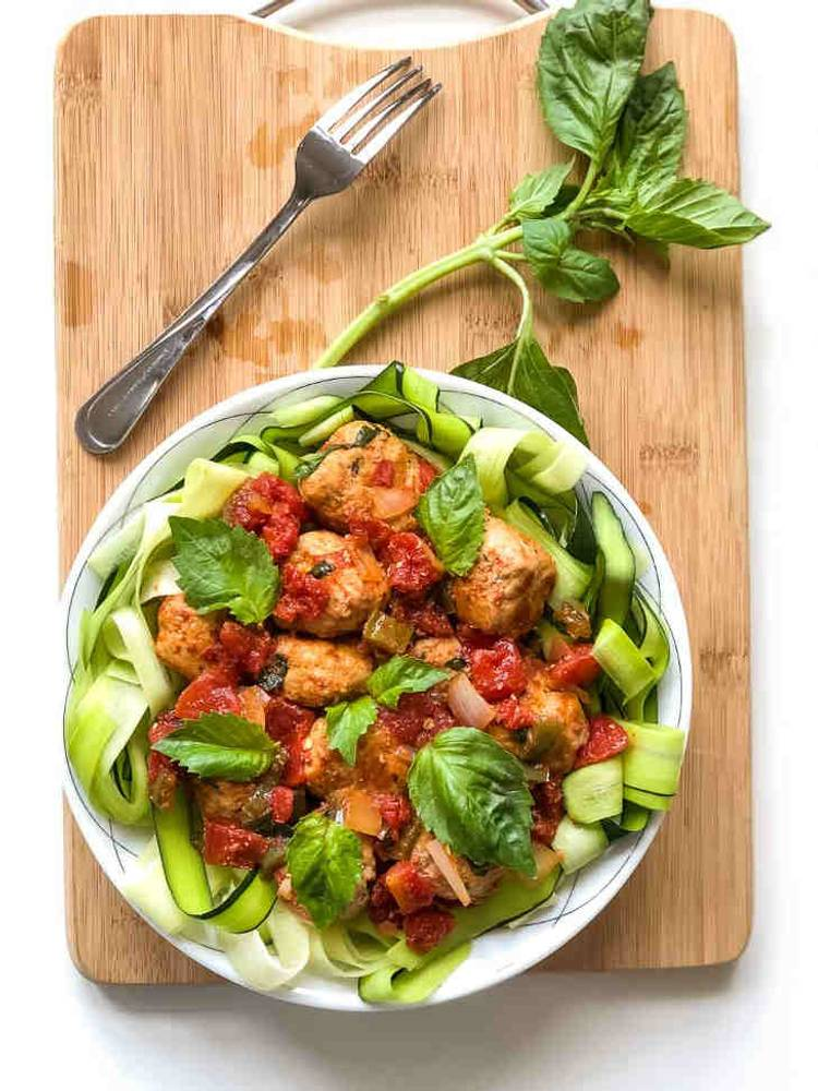 Keto Spicy Pork Meatballs Recipe