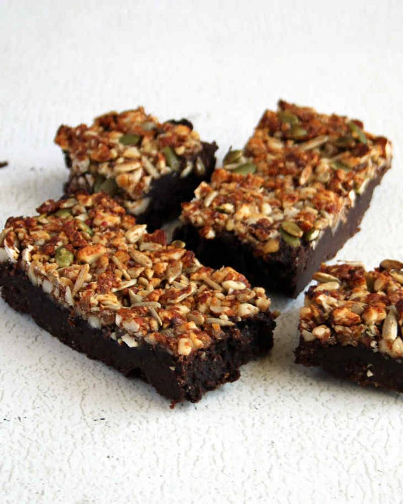 Keto Granola Brownies Recipe