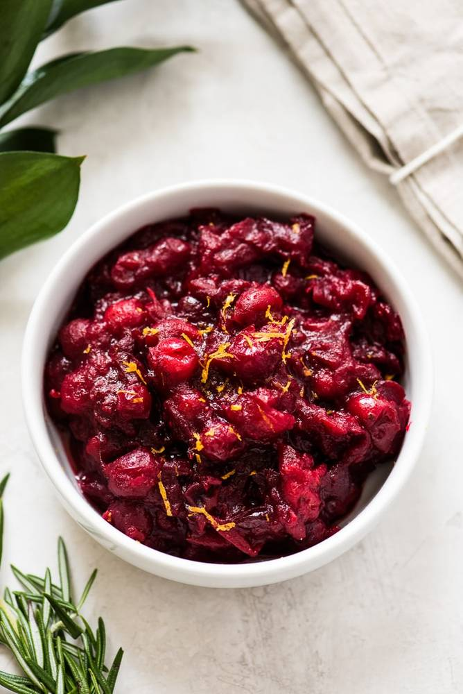 Easy Honey Cranberry Sauce Recipe
