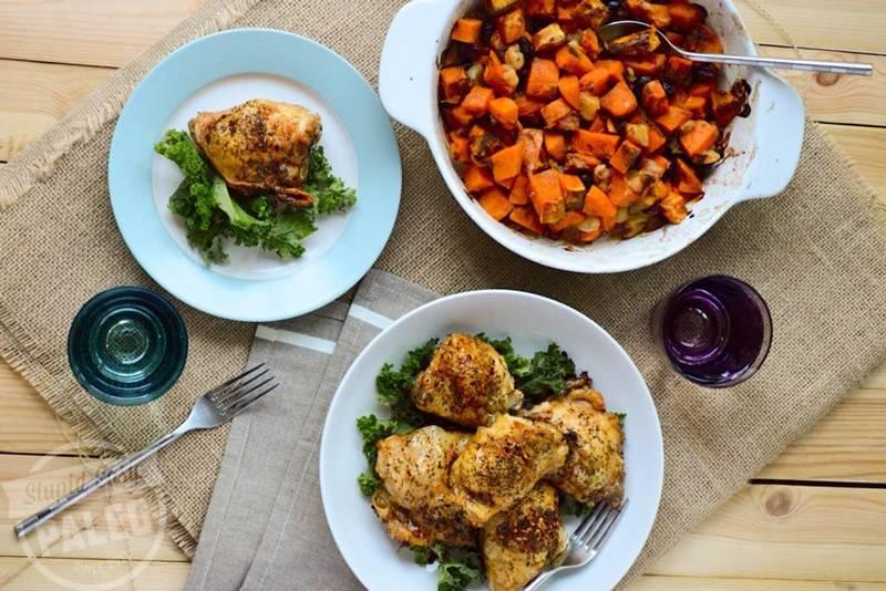 Crispy Italian Chicken Thighs Recipe (Paleo, Whole30)