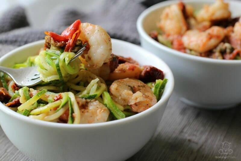 Mediterranean Zucchini Noodle Recipe
