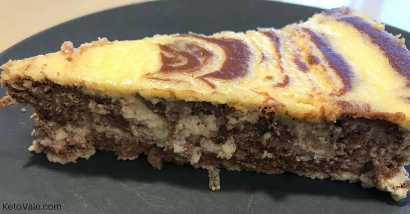Zebra Ricotta Cheesecake
