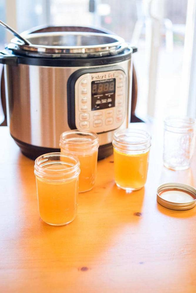 Keto Instant Pot Roasted Bone Broth Recipe