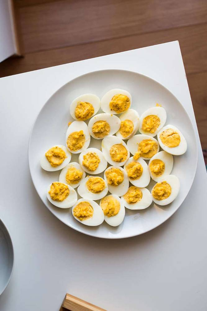 Keto No-Mayo Deviled Eggs [Dairy-Free]