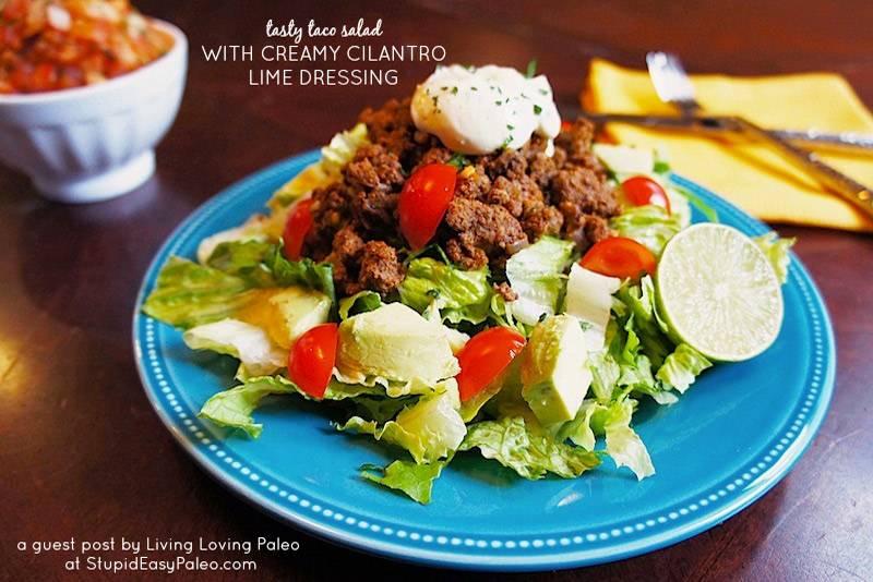 Paleo Taco Salad Recipe (Gluten-Free, Whole30)