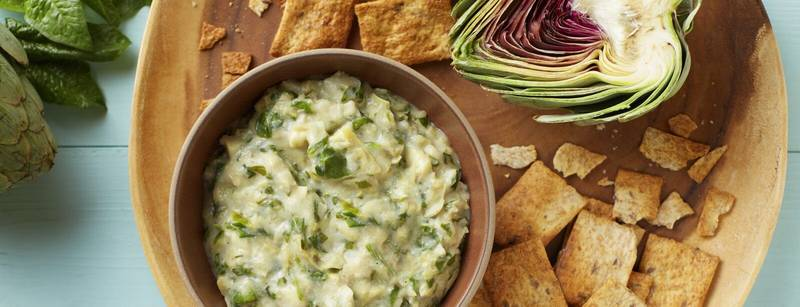 Dairy-Free Spinach and Artichoke Dip