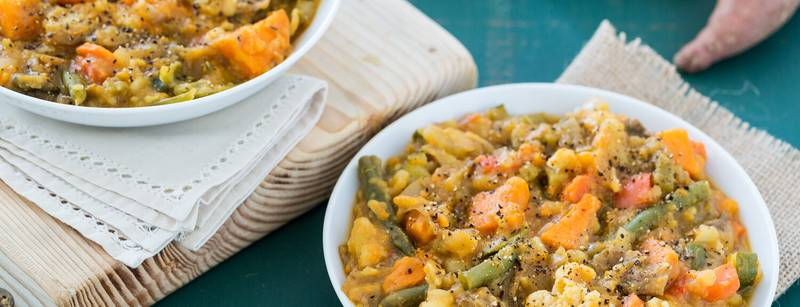 Creamy Sweet Potato and Vegetable Stew