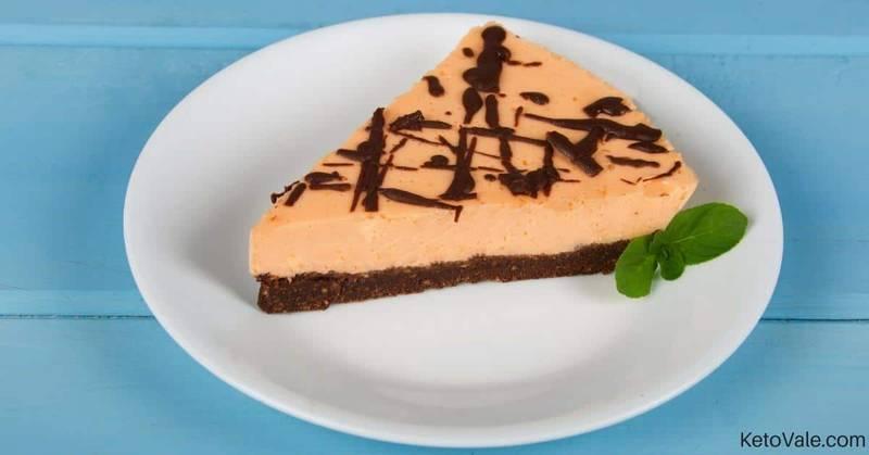 No Bake Orange Jelly Cheesecake