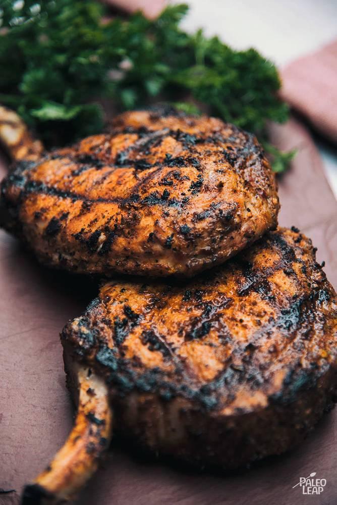 Grilled Cajun Pork Chops Recipe
