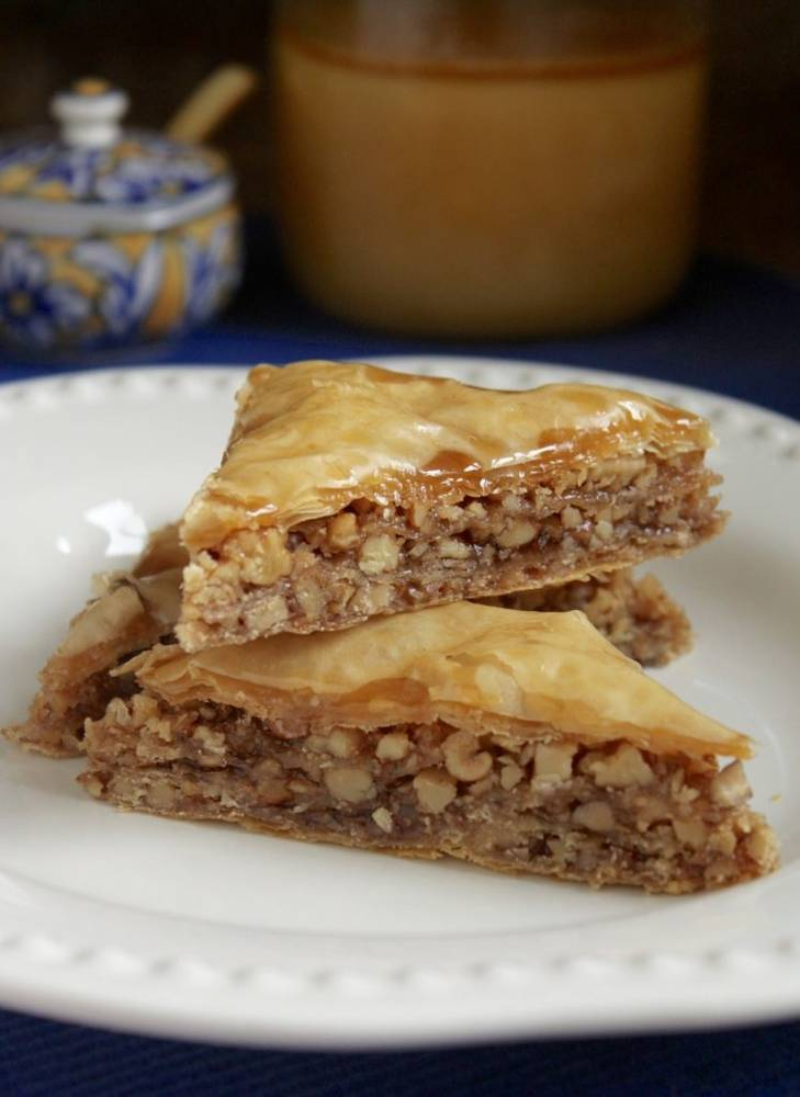 Honey Walnut Baklava