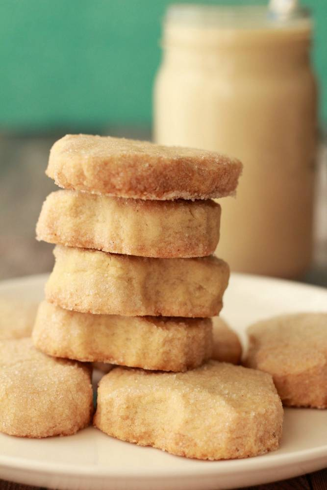 Small Batch Vegan Shortbread Cookies