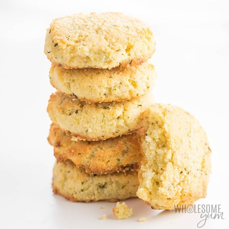 Easy Garlic Parmesan Keto Biscuits Recipe (Gluten-Free)