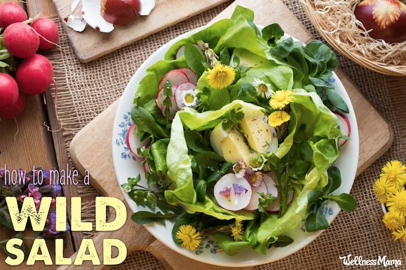 Wild Salad Recipe