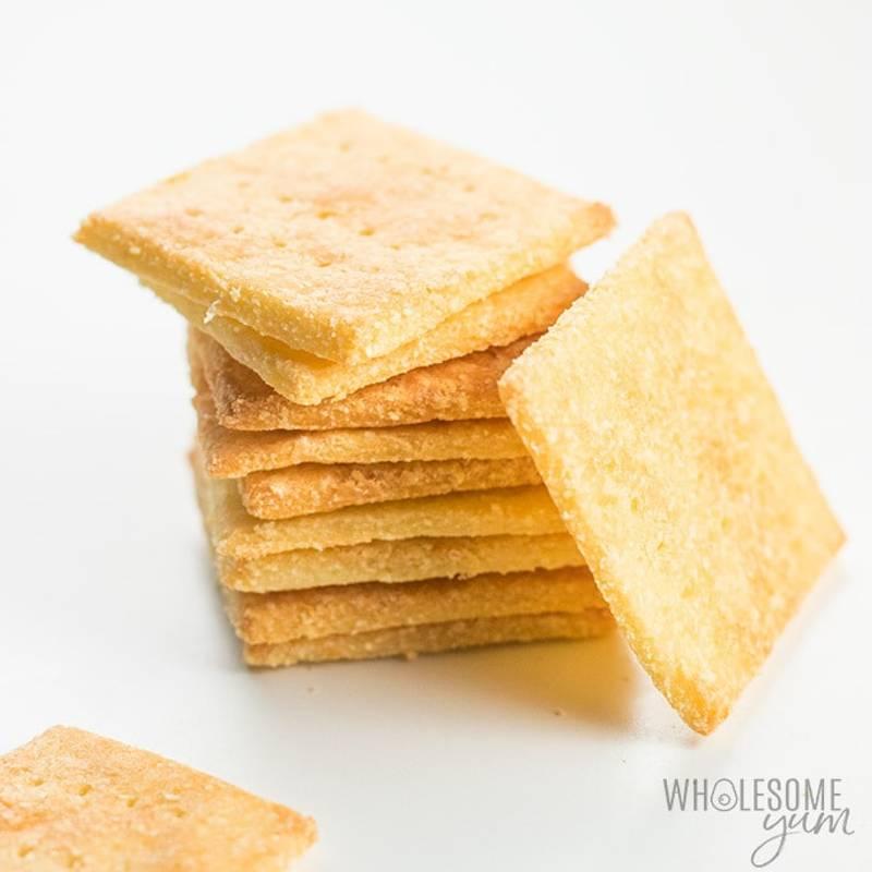 Keto Fathead Crackers with Coconut Flour Recipe