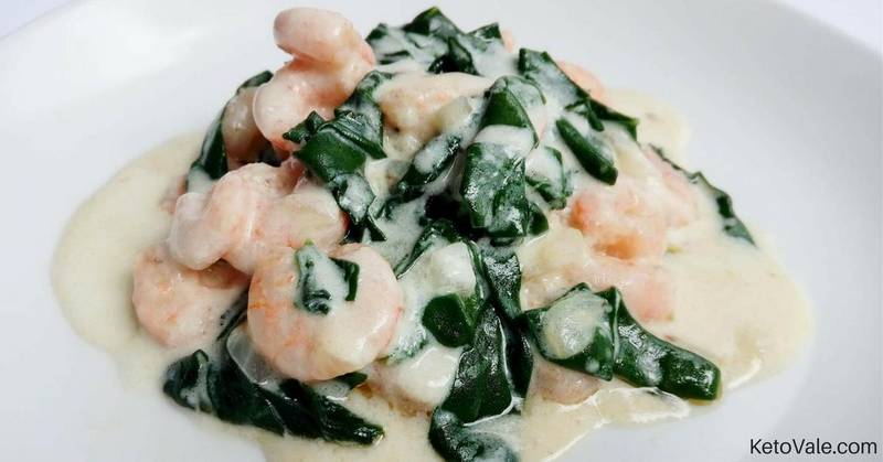 Creamy Shrimp Alfredo with Spinach