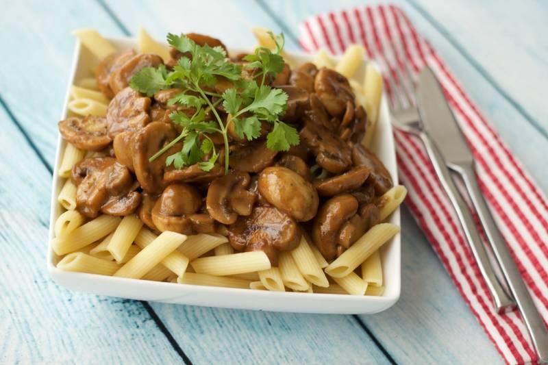 Tahini Mushroom Sauce
