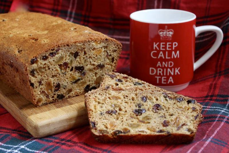 Scottish Tea Bread (Fruit Loaf)