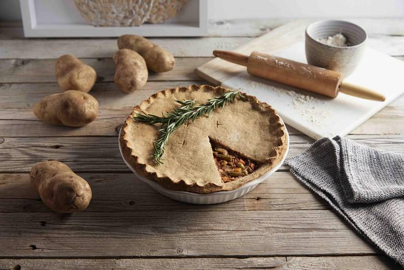 Festive Vegetable Pot Pie