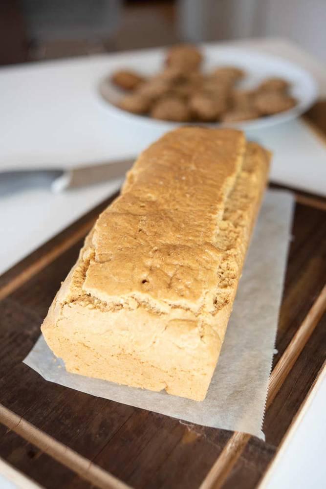 Keto Loaf of Bread [Gluten-Free, Dairy-Free]