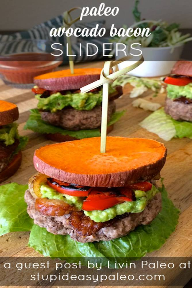 Paleo Avocado Bacon Sliders Recipe