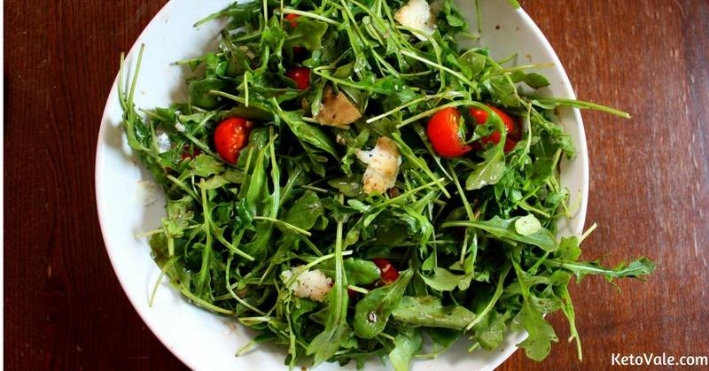 Arugula Salad with Parmesan and Cherry Tomatoes