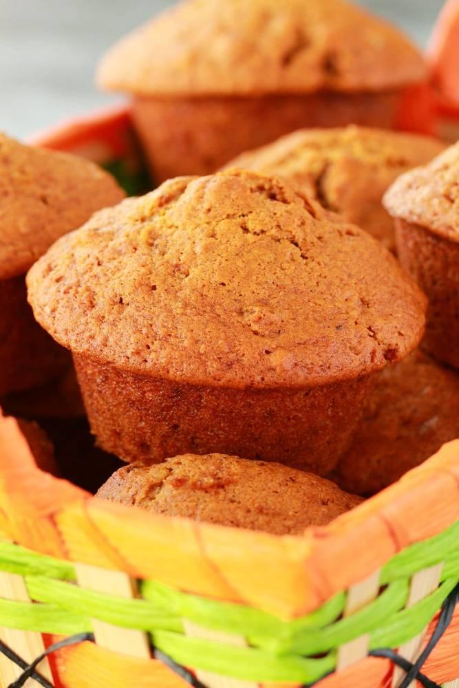 Vegan Pumpkin Muffins (with Pecans!)