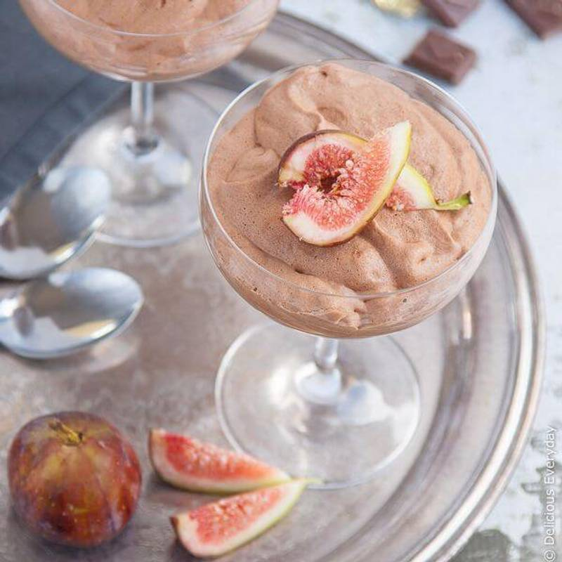 Vegan Chocolate Mousse Recipe {gluten-free}