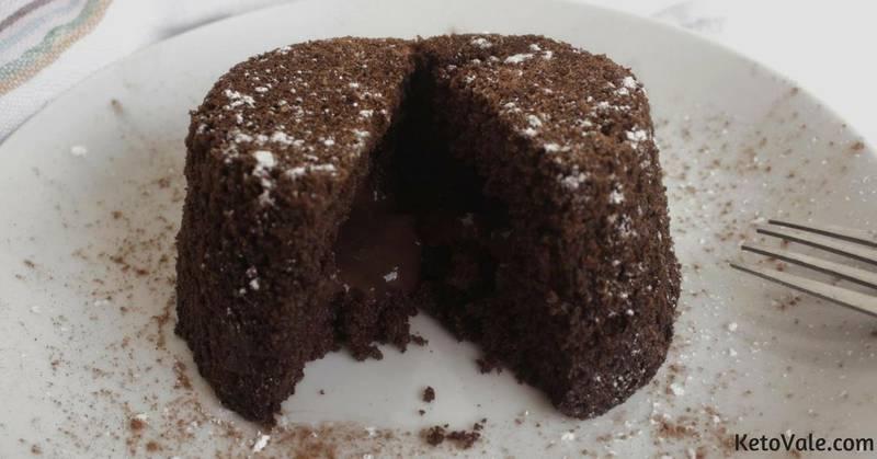 Keto Lava Cake
