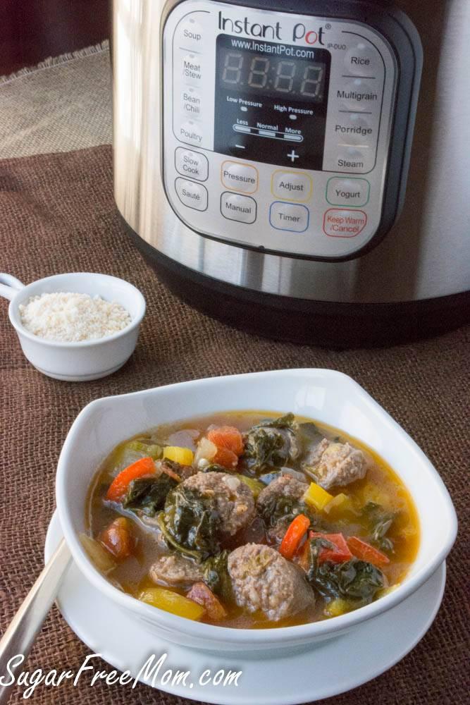 Italian Sausage & Pepper Soup