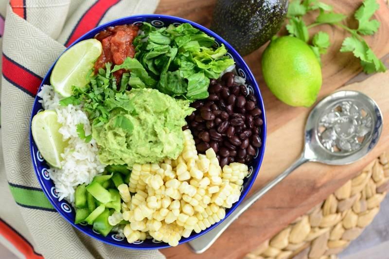 Vegan Burrito Bowl {gluten free}