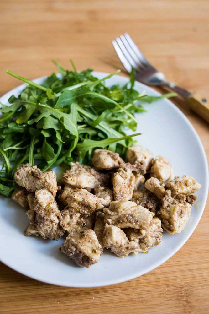 Keto Almond Butter Chicken Saute Recipe