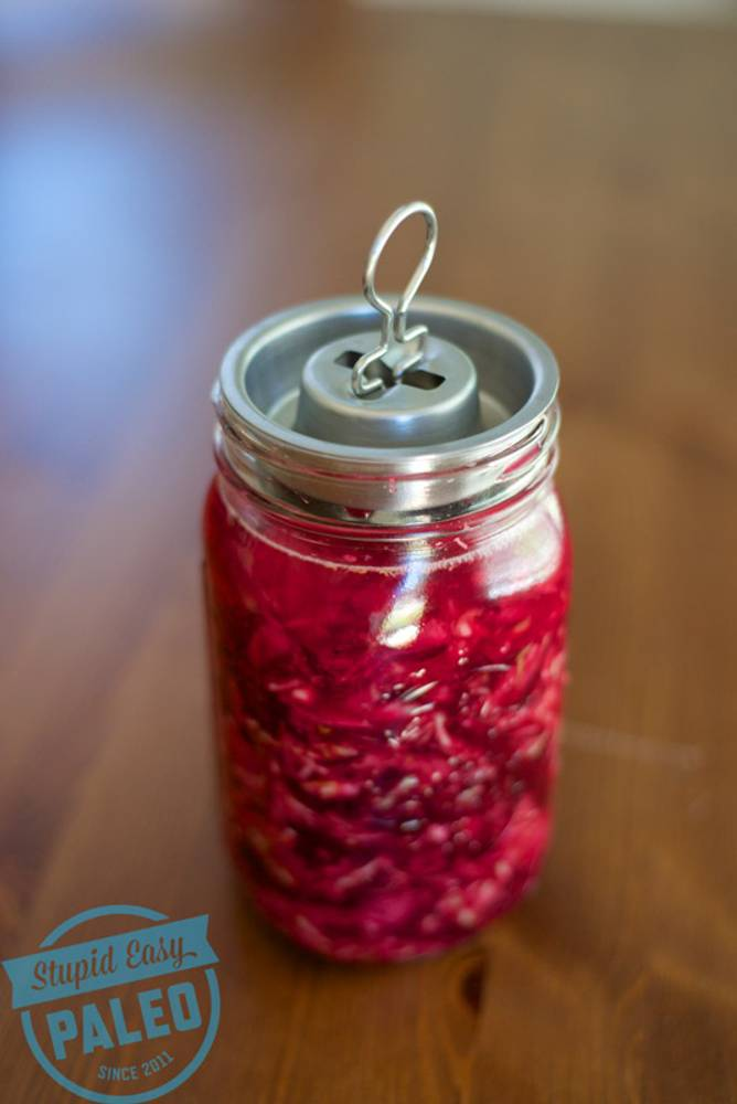 Beet Ginger Sauerkraut Recipe