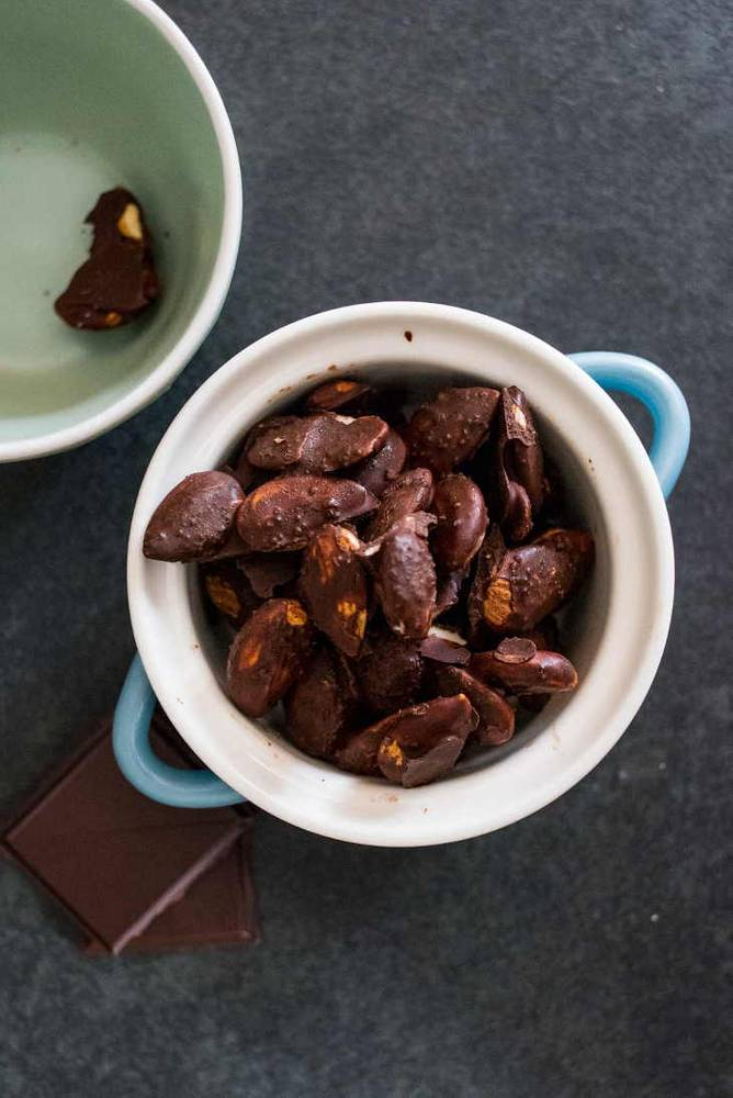 Keto Chocolate Covered Almonds