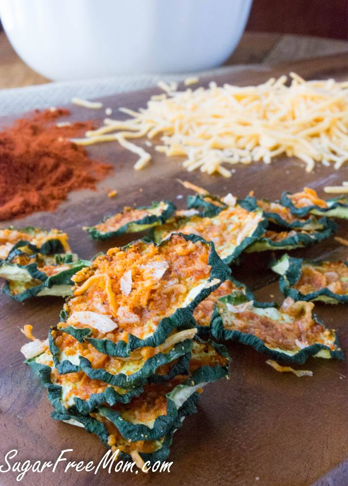 Spicy Nacho Cheese Cucumber Chips