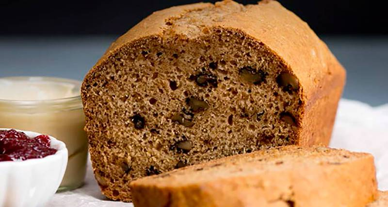 Apple-Walnut Breakfast Bread