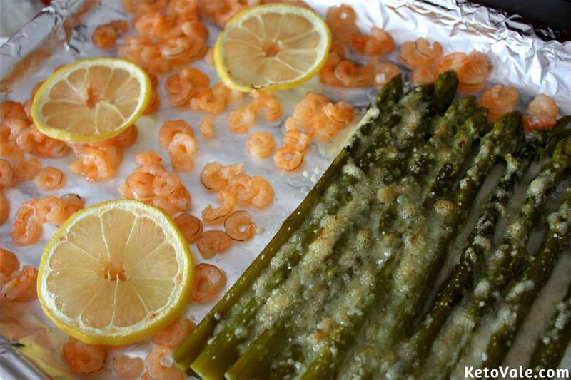 Baked Shrimp with Asparagus