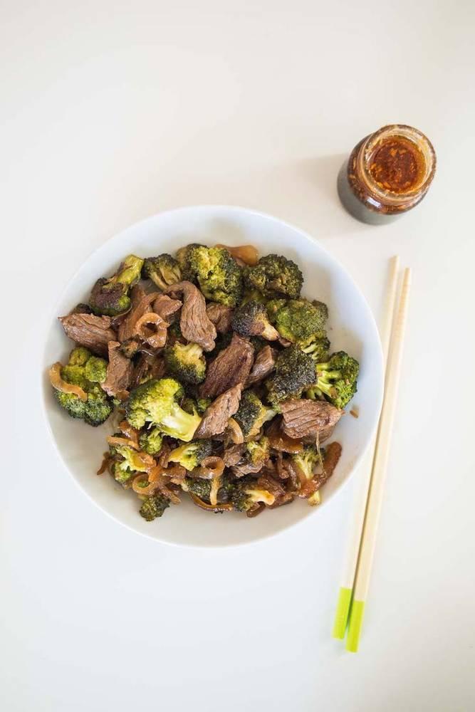Keto Broccoli Beef Stir-Fry Recipe