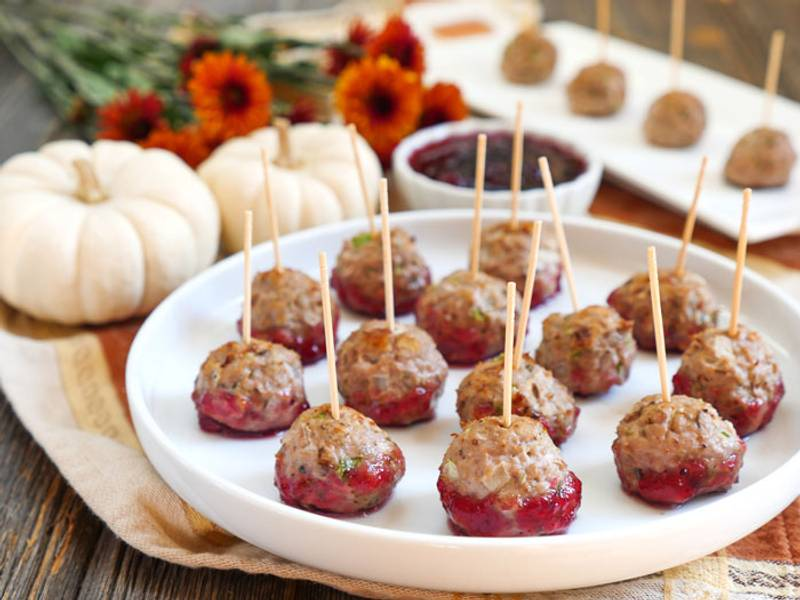 Thanksgiving Meatballs