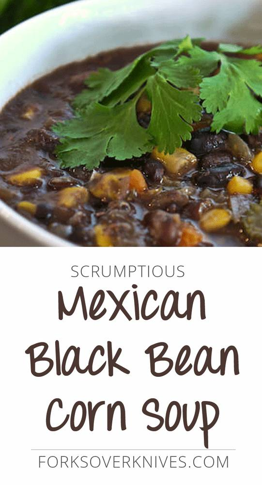 Mexican Black Bean Corn Soup
