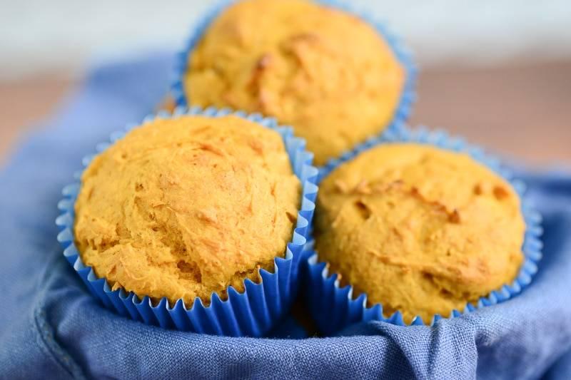 Healthy Pumpkin Muffins {vegan, gluten free}
